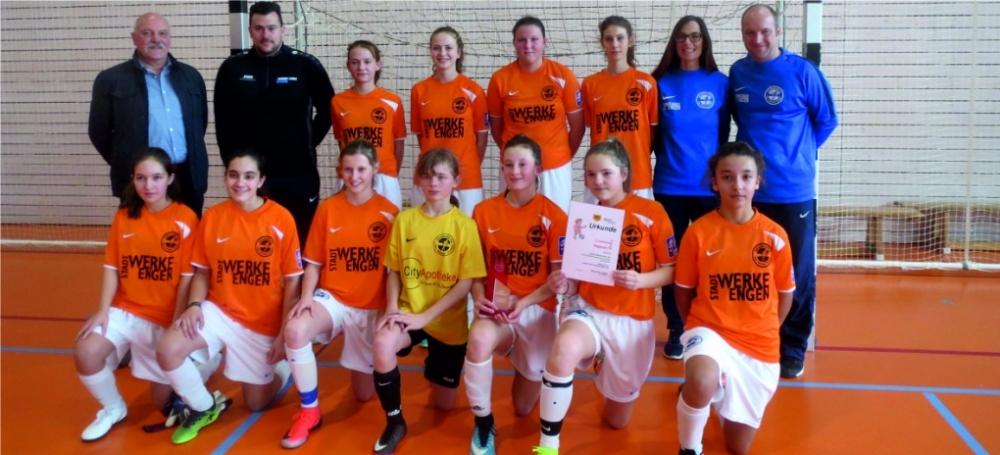 Hegauer FV C-Juniorinnen - Foto Hans-Peter Restle